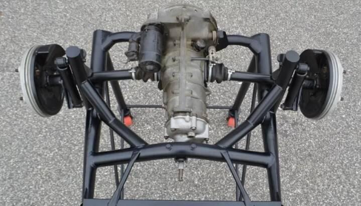 Transaxle do Porsche em que James Dean morreu. Imagens: Divulgação