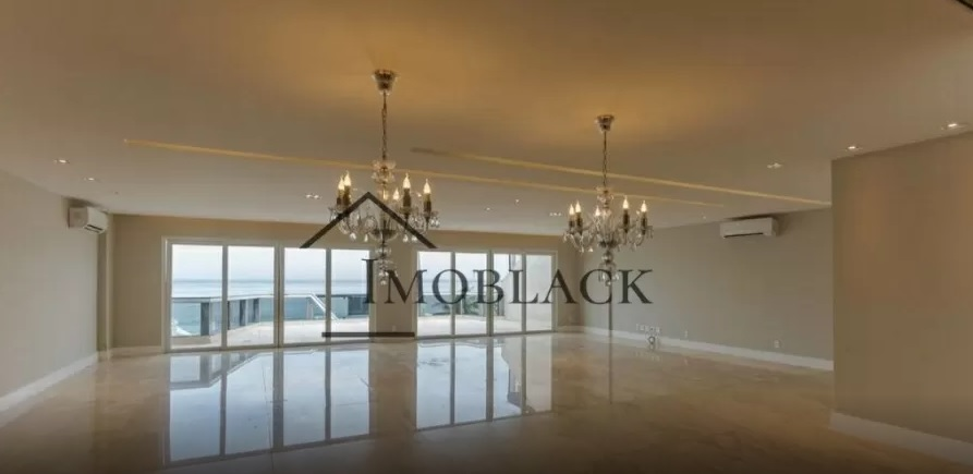Sala de estar da cobertura de Mayra Cardi. Fotos: Reprodução/Imoblack