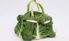 Bolsas Birkin da Hermès feitas de legumes. Arte: Ben Denzer/ Fotos: Divulgação/Hermès