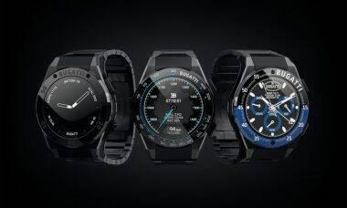 Smartwatches Bugatti. Fotos: Divulgação/Bugatti