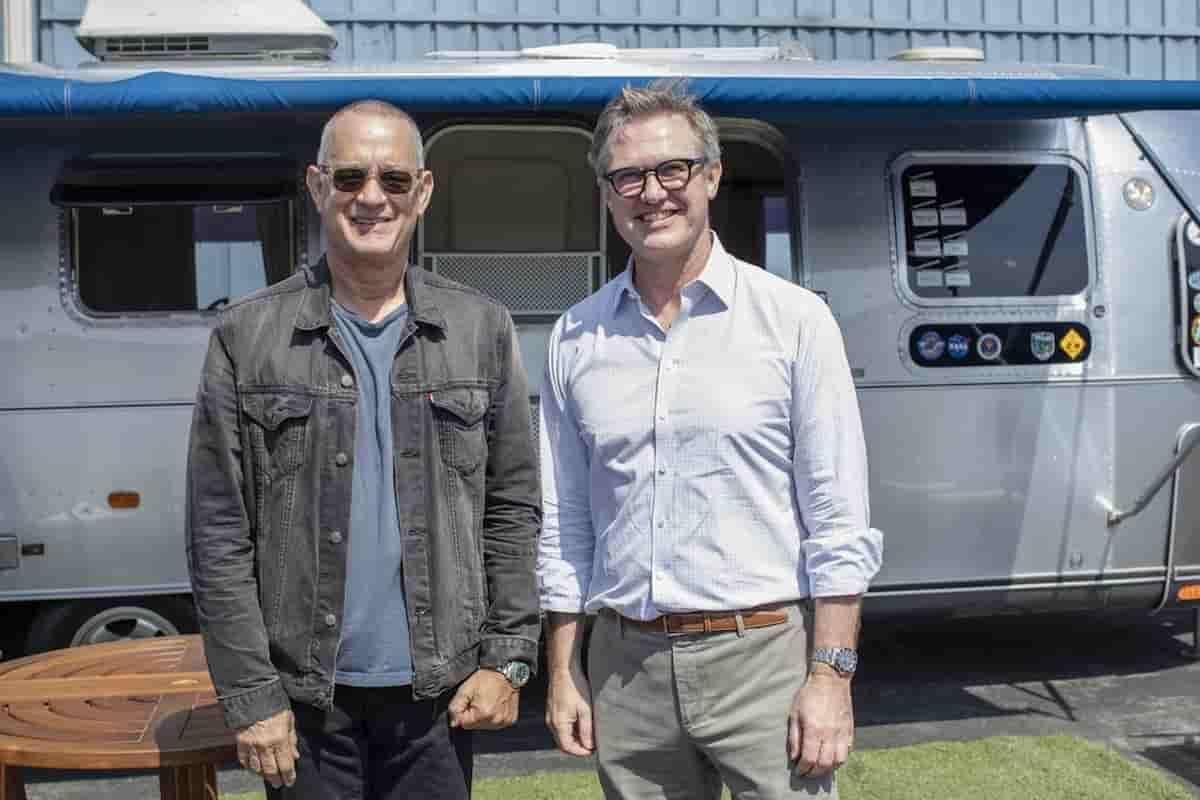 Tom Hanks coloca à venda trailer que usava em filmagens. Fotos: Divulgação/Bonhams