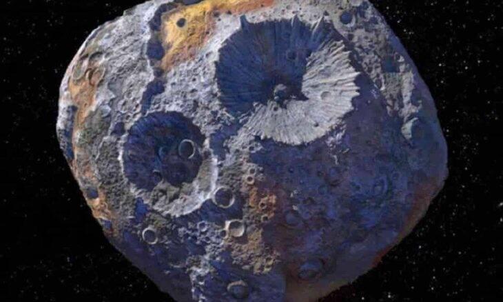 Psyche 16 será o foco do projeto 2022 da NASA. Foto: Divulgação/NASA