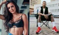 Neymar e Bruna Biancardi. Fotos: Reprodução/Instagram