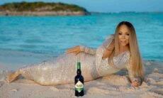 Mariah Carey lança marca de bebida. Fotos: Divulgação/Black Irish