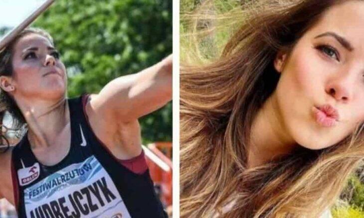 Maria Andrejczyk, lançadora de dardo polonesa, que ganhou medalha de prata em Tóquio 2020. Fotos: Reprodução/Instagram
