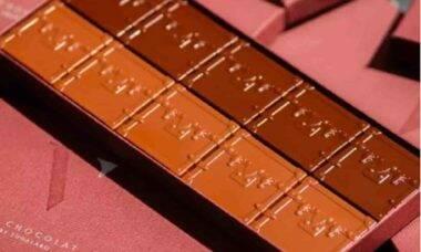 Chocolate Louis Vuitton. Fotos: Divulgação/Le Cafe V