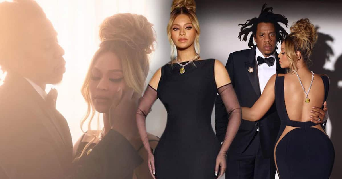 Beyoncé posa com diamante amarelo raríssimo da Tiffany. Fotos: Divulgação/Tiffany