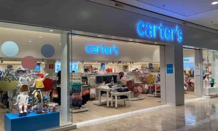 Carter's abre mais uma loja no Brasil. Foto: Divulgação