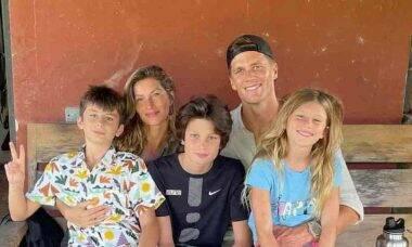 Gisele Bundchen e a família. Foto: Reprodução/Instagram