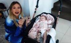 Virginia Fonseca compra meia da Gucci para a filha, Maria Alice. Foto: Reprodução/YouTube