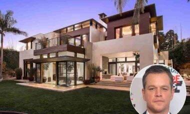 Matt Damon diminui preço de mansão à venda. Foto: Realtor / MLS