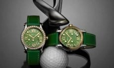 Relógio golf Chopard. Fotos: Divulgação/Chopard