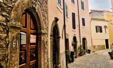 Maenza, na Itália, tem casas à venda por 1 euro. Foto: Divulgação/Proloco Maenza/Giulia Ciotti
