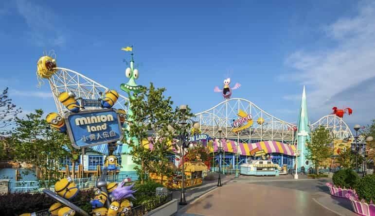 Universal Studio Resort já tem data de inauguração neste mês de setembro. Fotos: Divulgação/Universal Beijing Resort