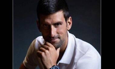 Novak Djokovic faz parceria com a Hublot. Foto: Divulgação/Hublot