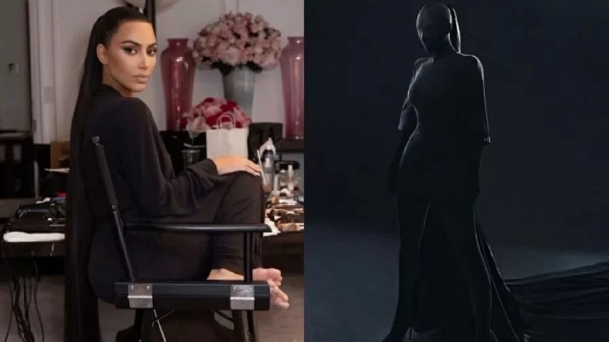 Look Kim Kardashian MET Gala 2021. Imagens: Reprodução/Instagram