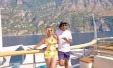 Beyoncé e Jay-Z estão em iate luxuoso. Reprodução/Instagram