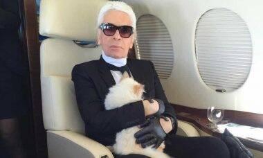 Objetos de Karl Lagerfeld serão leiloados. Foto: Reprodução/Instagram