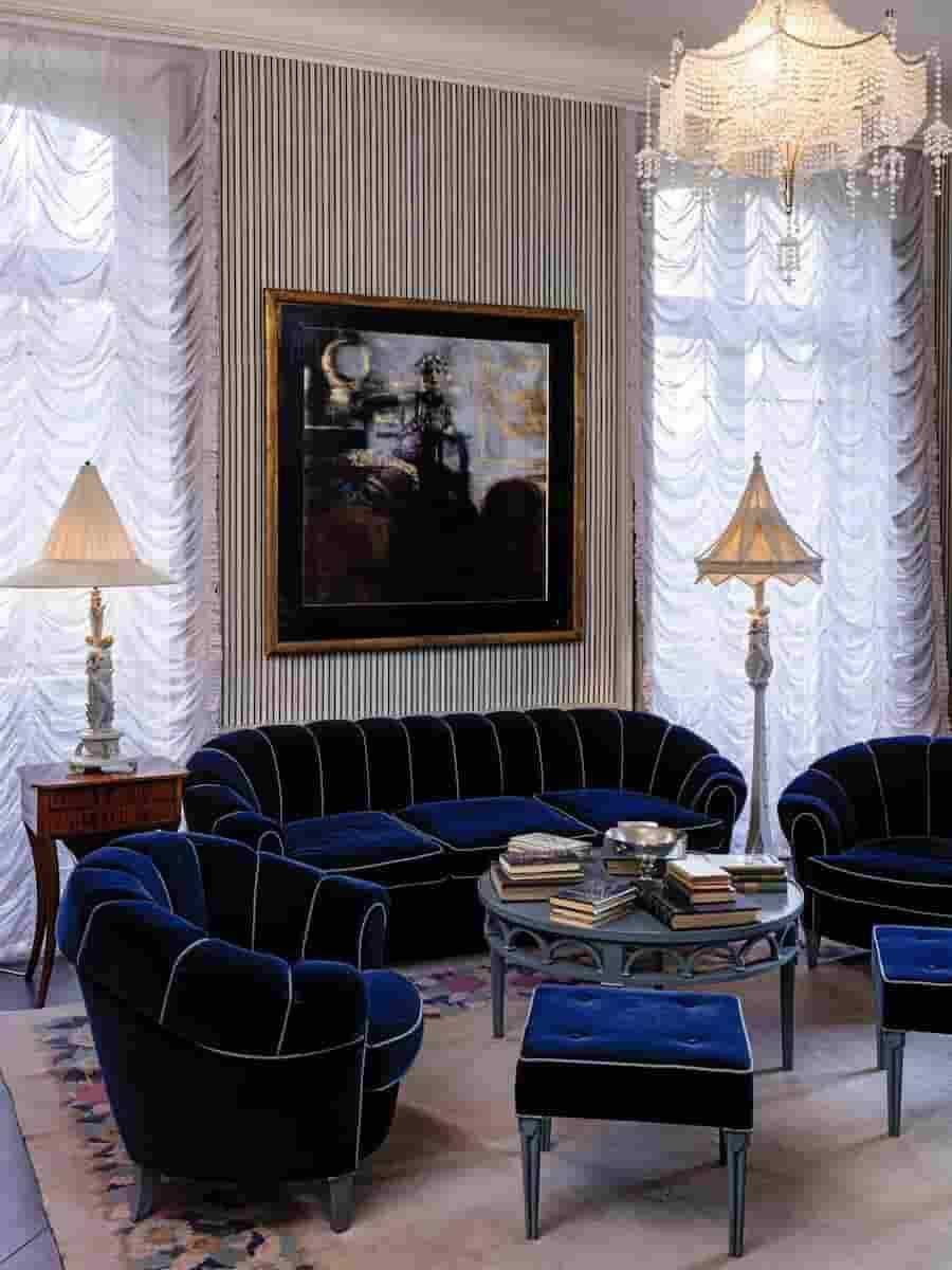 Casa de Karl Lagerfeld em Louveciennes/ Divulgação: Sotheby's