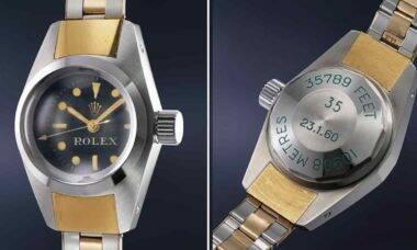 Rolex raríssimo Deep Sea Special vai a leilão. Fotos: Divulgação/ Phillips