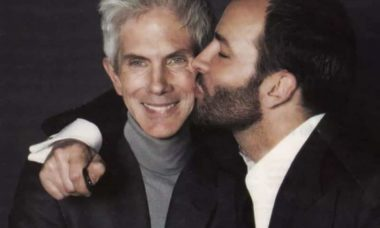 Morre o jornalista de moda Richard Buckley, marido do estilista Tom Ford. Foto: Reprodução/Instagram