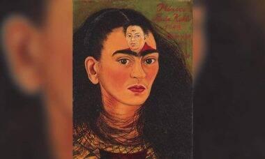 Autorretrato de Frida Kahlo deve bater recorde em leilão. Fotos: Divulgação/Sotheby's