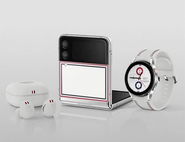 Agora você pode completar sua coleção Samsung Thom Browne. Crédito: Samsung
