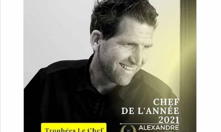 Alexandre Mazzia é eleito o chef do ano 2021. Foto: Reprodução/Instagram
