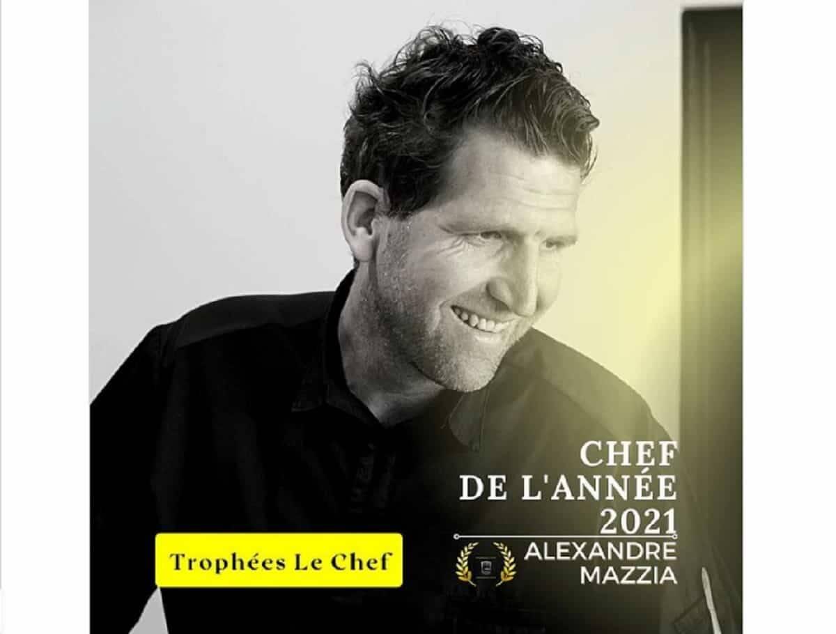 Alexandre Mazzia é eleito o chef do ano 2021. Foto: Divulgação/ Le Chef Magazine