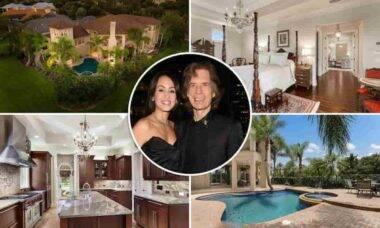 Por dentro da nova mansão de Mick Jagger nos Estados Unidos. Fotos: Divulgação/ Realtor