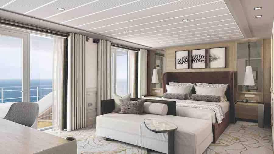 Grand Suite. Fotos: Divulgação/ Regent Cruises