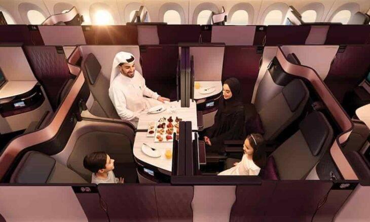 Futuro da primeira classe será de minissuítes executivas. Foto: Divulgação/ Qatar Airways