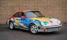Porsche Carrera 1989 com pintura exclusiva está à venda. Fotos: Divulgação/ Bring a Trailer