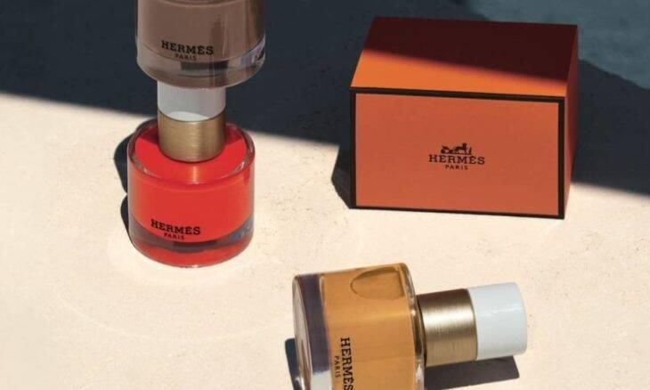 Lançamento da coleção de esmaltes e acessórios de unha da Hermès. Fotos: Divulgação/ Hermès