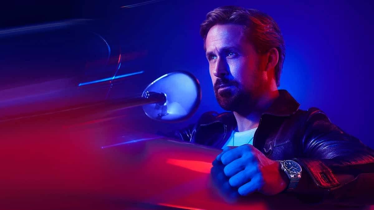 Ryan Gosling pela primeira vez se alia à uma marca. Fotos: Divulgação/ TAG Heuer