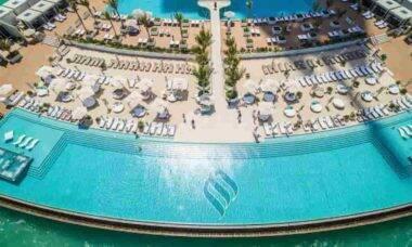 Burj Al Arab abre para turistas visitarem seu interior sem precisar se hospedar no hotel. Fotos: Divulgação/ Jumeirah Group